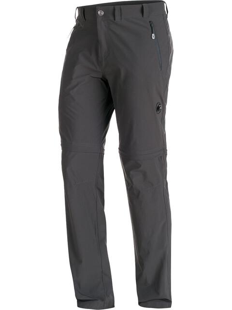 Mammut Runbold Zip Off Pants Men Long graphite